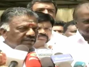 O Paneerselvam Assures Amdk Merger Will Be Within 2 Days