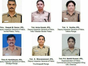 Government India Have Announced Award Medals 26 Officers Tn Police