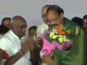 Pon Radhakrishnan Who Was Insulted Venkaiah Naidu