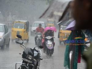 Rain Chennai People Happy