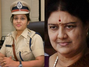 Former Dig Roopa Says Sasikala Uses Barricaded Corridor Jail Premises As Private Space