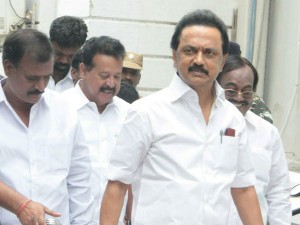 Mk Stalin Leaves London 12 08