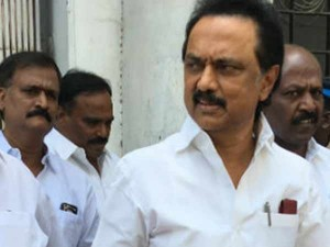 Mk Stalin Going London
