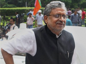 Stones Thrown At Bihar Deputy Chief Minister Sushil Kumar Modi Convoy