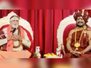 Kanchipuram Thondai Mandala Aadheenam Backs Nithyanantha