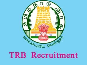 Trb Tamilnadu Recruitment 2017 Apply Online 1325 Vacancies