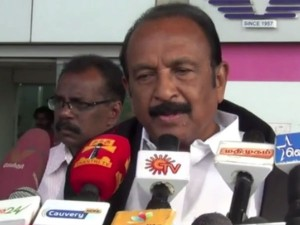 Mdmk General Secretary Vaiko Blamed Central Government Hydro