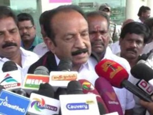 Mdmk Chief Vaiko Says That Probe Needed Dual Nativity Certificate Issue