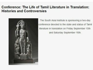 The Life Tamil Literature Translation Histories Controversies