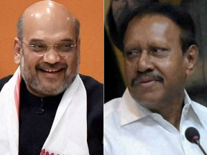 Amit Shah Held Closed Door Discussions With M Thambidurai Aiadmk
