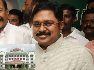 High Court Madurai Bench Gave Permission Ttv Dinakaran S Protest