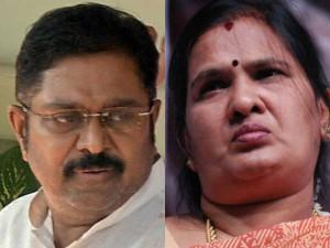 Mp Vasanthi Murugesan Accuses That Ttv Dinakaran Alliance With Dmk