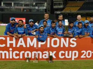 India S 5 0 Clean Sweep Against Sri Lanka