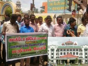 Chennai Hc Madurai Branch Stays Jactto Geo Association S Strike