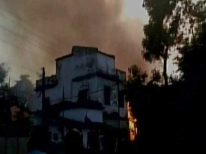 Fire Brokes At Jharkhand S Kumardubi Killed