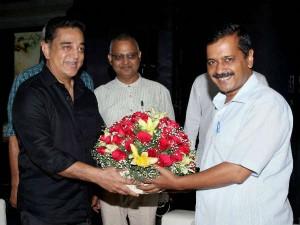 Will Kejriwal Kamalhaasan Join Hands Eradicate Bribe