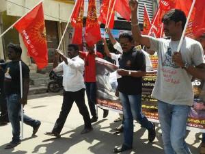 Naam Thamizhar Party Cadres Arrested Near Avadi