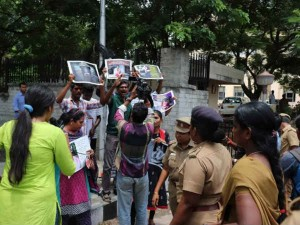 Students Transgenders Arrested Protesting Against Neet