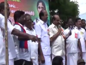 Over Tamilnadu Opposite Parties Conducting Protest Against Neet