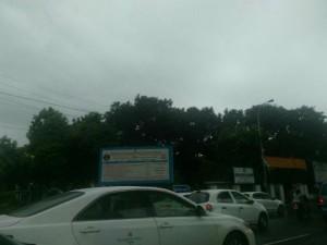 Traffic Jam Chennai Due Heavy Rain Today