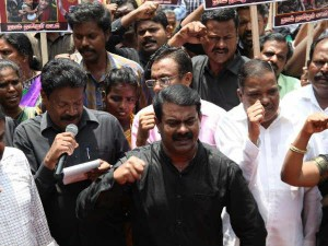 Naam Thamizhar Party Organiser Seeman Protested Support Rohingya