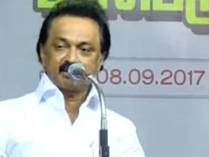 We Will Protest Till The Tn Govt Falls Calls Stalin