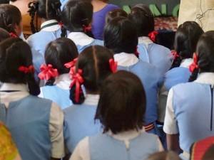 Madhya Pradesh Students Answer Roll Call With Jai Hind