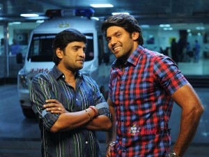 Actor Arya Attacks Actor Santhanam A Function