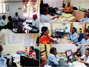 Officials Weavers Service Centre Kancheepuram Held Meetings