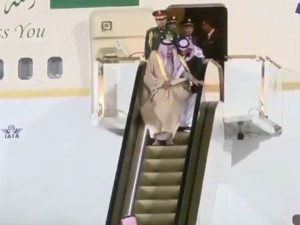 Saudi Arabia S King Escalator Stopped Funny Story Golden Escalator