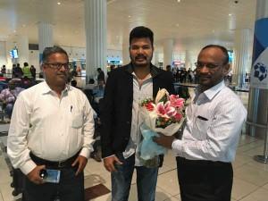 Greate Welcome Director Shankar Dubai