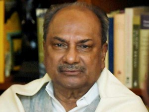 Former Indian Defence Minister Ak Antony Admitted Hospital At Delhi