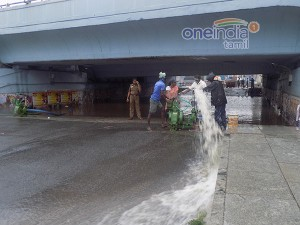 Chennai S Most The Subways Are Filled With Rainwater Corporation
