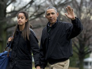 Malia Obama Is Dating With Rory Farquharson