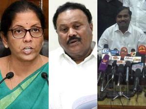 Velmurugan Condemns The Sppech Defence Minsiter Nirmala Seetharaman