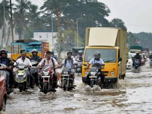 Tn Coastal Districts Gets Heavy Rainfall