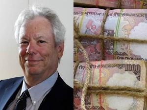 Nobel Laureate Richard Thaler Says That The Modi S Demonetization Deeply Flawed