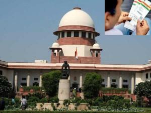 Aadhaar Mandatory Plea Be Heard Supreme Court