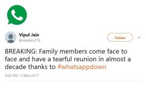Tweets On Whatsappdown Whatsappdown