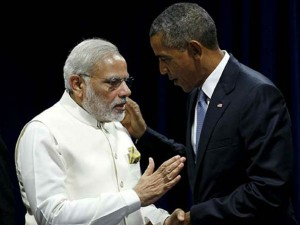 Barack Obama Privately Speaks With Prime Minister Narendra
