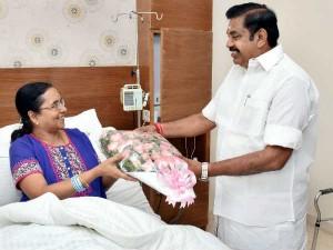 Tamilnadu Chief Secretary Girija Vaidyanathan Admitted Hospital For Treatment