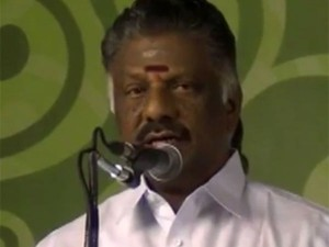 Deputy Chief Minister O Paneerselvam Slams Dmk The Mgr Century Function Ooty