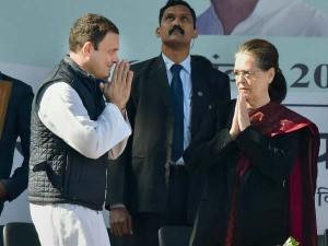 Sonia Gandhi Gets Angry While Crackers Bursting