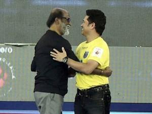 Sachin Tendulkar Wishes Rajini His Birthday