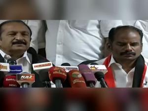 Mdmk General Secretary Praises Rk Nagar Dmk Candidate Marudhu