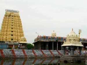 There Is Not Even One Percent Gold The Kancheepuram Eakambaranathar Temple