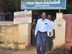 Newly Appointed Isro Chief Sivan Visits His Hometown