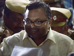 Karthi Chidambaram Appeared Before Ed