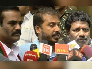 Mlas Tamimun Ansari Karunas Thaniyarasu Condemns H Raja