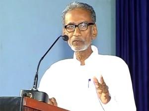 Pazha Nedumaran Condemns Vijayendrar Insulting Tamil Thaai